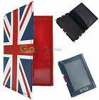 Leather Age ID Wallet  Oyster Card  Drivers Identity  Work Train Bus Tram Pass