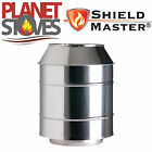 Stainless Steel Shieldmaster Cone Top Cowl For Twin Wall Insulated Flue Pipe