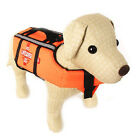 Floatation Aquatic Safety Vest Dog Life Jacket Pet Swim Preserver Coat