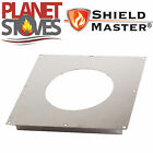 Stainless Steel Shieldmaster Fire Stop Plate For Twin Wall Flue Pipe