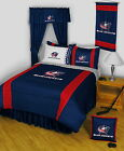Columbus Blue Jackets Bed in a Bag with Valance & Curtains Twin to King