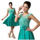 ❤TOP GRADE❤ Evening Formal Bridesmaid Cocktail Ball Gown Party Prom Short Dress