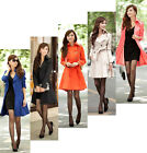 ZWN Fashion Women Slim Fit Trench Double Breasted Coat Outwear Jacket