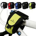 2014 Sport Bicycle Bike Cycling Frame Pannier Saddle Front Tube Bag Double Pouch