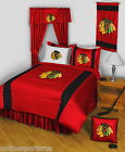 Chicago Blackhawks Comforter Sham and Sheet Set Twin to King