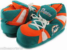 Miami Dolphins Sneaker Slippers Hi Top Boot Comfy Feet