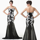 Lace & Chiffon Elegant Evening Homecoming Prom Banquet Cocktail Party Long Dress