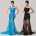 Stylish Appliques Long Evening Formal stage Party Gown Prom Bridesmaid Dress New