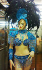 Da NeeNa C042 Burlesque Vegad Showgirl Dance Headdress Costume Set XS-XL