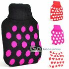 Small Size Hot Water Bottle Covers Bed Warmer Sleeve 500ml Hood Wrap Slip Holder