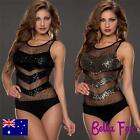 Sexy Bodice Lace Bodysuit Black Teddy Leotard Underwear Sexy Lingerie Sheer Top