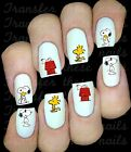 30 SNOOPY WOODSTOCK NAIL ART DECALS STICKERS WATER TRANSFERS PARTY FAVORS