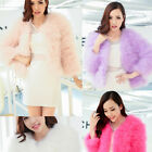 2014 NEW Women Lady Fashion Good Warm Real Fur Warm Short Real Fur Coat