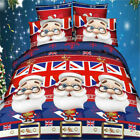 Christmas King/Double/Queen/Single Size Quilt/Doona/Duvet Cover Set New Cartoon