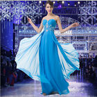 2015 NEW Masquerade Chiffon Party Prom Wedding Evening Cocktail Long Women Dress