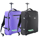 Lightweight Hand Luggage Wheeled Suitcase Flight Trolley Cabin Bag 55x40x20cm