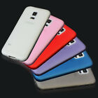 Ultra Slim Frosted Matte TPU Back Skin Case Cover For Samsung Galaxy S5/S5 Mini