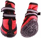 Performance Dog Winter warm Waterproof boots  Shoes Set of 4