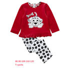 Spotty Dog Kids Girls Homewear Pajamas Pajama Sets Sleepwear Top+Leggings