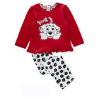Spotty Dog Kids Girls Pajamas Pyjama Suits Sets Sleepwear Set Gift 1-6Y Homewear