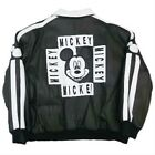 MICKEY MOUSE BOMBER LEATHER JACKET Ex RN20843