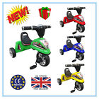 Wellsun Titan Kid Child Baby Motor Design Trike 3 Wheel Bike Ride On Toy_UK NEW