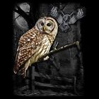 Owl Wilderness Graphic on Quality T-Shirt Unisex Free Shipping 18282