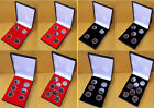 Slim-Line Display Case for 4,5,6 or 8 Full Sovereigns inc Coin Capsules