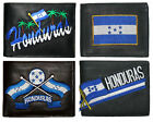 HONDURAS Palm Tree Flags Black Leather Wallet Patch 3