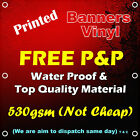 PVC BANNERS OUTDOOR HEAVY DUTY VINYL BANNER ADVERTISING SIGN DISPLAY QUALITY