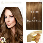 "24"" DIY kit Indian Remy Human Hair I tips/micro beads  Extensions  AAA GRADE #8"