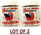 LOT OF 1x,  2x,  4x Betta Delux Pellet Food Nutritious Diet for Beta Fish Turtle