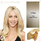 "17""DIY kit Indian Remy Human Hair I tips/micro beads  Extensions  AAA GRADE #613"