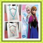 Disney FROZEN Elsa Anna Girls Necklace Christmas Gift Dress Up Party 2 Designs