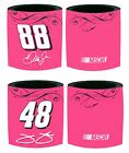 PINK NASCAR CAN KOOZIE Pick Your Driver