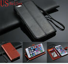 Genuine Luxury Real Leather Flip Wallet Case Cover For Apple iPhone 6 Plus