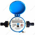 Water meter for House and Garden various connectors 1.5m3/h 16bar