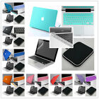 """5in1 Kit  Rubberized Hard Case Cover Shell for Macbook Pro 13""""15&Air 11""""13""""inch"""
