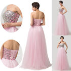 Stunning Bridesmaid Evening Gowns Prom Dresses Cocktail Party Long Dress UK 6-20