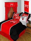 Chicago Bulls Comforter Sham & Pillowcase Set Twin to King Size Sets