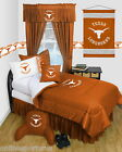 Texas Longhorns Comforter and Sham Twin Full Queen Size Sets