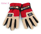 (Unisex) thicken winter gloves polar fleece gloves wind proof for ski outdoor