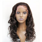 """Full Lace/Lace Front 100% Remy Indian Human Hair Wig Bodywave8""""-22"""" #1b #2 #4"""