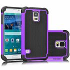Hybrid Rugged Rubber Matte Hard Case Cover For Samsung Galaxy S3/S4/S5