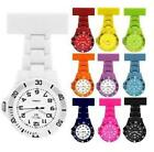 Prince London NY coloured rubberised plastic nurses fob watch brooch nurse