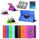 For Apple iPad 2 3 4 Mini 1 2 3 Air 5 360 Rotating PU Leather Smart Cover Case