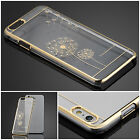 Luxury Crystal Diamond Electroplate Back Case Cover For Apple iPhone 6 & 6 Plus
