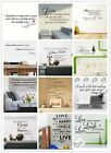 New 1pc Removable Art Vinyl Quote Wall Stickers Decal Mural Home Kitchen Decor
