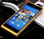Luxury Ultra thin Aluminum Metal Bumper Frame Cover Case For Sony Xperia Z3