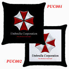 New* RESIDENT EVIL UMBRELLA CORPORATION Throw Pillow Case Optional Pattern